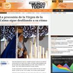 La Virgen de las Angustias, en el portal de humor 'El Mundo Today'