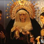 El Santo Entierro traslada a sus titulares a San Sebastián