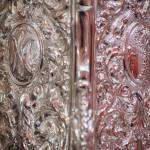 Así son los nuevos varales para el palio de la Virgen de la Amargura