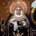 El Santo Entierro inicia los cultos del 75 aniversario de la Soledad