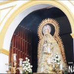 La Virgen del Dulce procesiona este sábado con un recorrido inusual