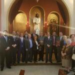 Jaime Otero recibe las pastas para su Exaltación Eucarística