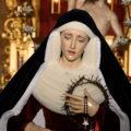 La Virgen de la Trinidad saldrá este sábado por primera vez a la calle