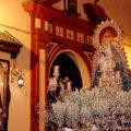 El 15 de agosto, el día de la procesión de la Virgen del Águila