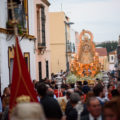 La Virgen del Dulce Nombre bendice hoy Alcalá en su procesión triunfal