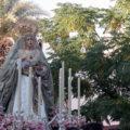 Este domingo, la Virgen de las Angustias recorre su barrio en Rosario de Vísperas