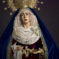 Besamanos a la Virgen de las Angustias en la Parroquia de la Inmaculada