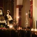 Traslado de las imágenes del Santo Entierro para la celebración de sus cultos