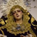 Esta noche, salida de la Virgen de los Dolores en rosario vespertino