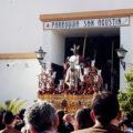 El Rocío y la Borriquita abandonan San Agustín por las obras urgentes en el templo